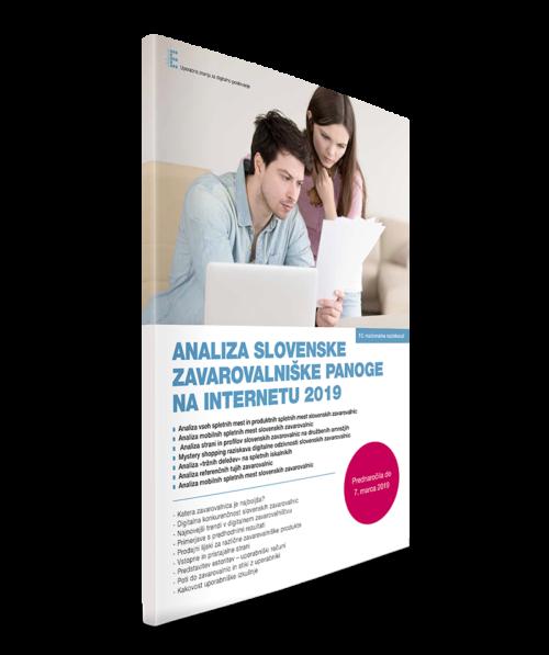 Analiza slovenske zavarovalniške panoge 2019